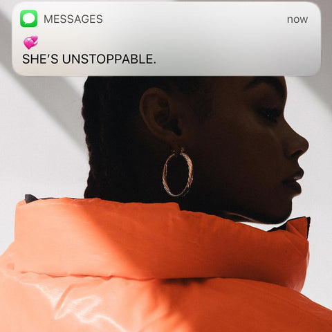 KLAP clothing - She's Unstoppable