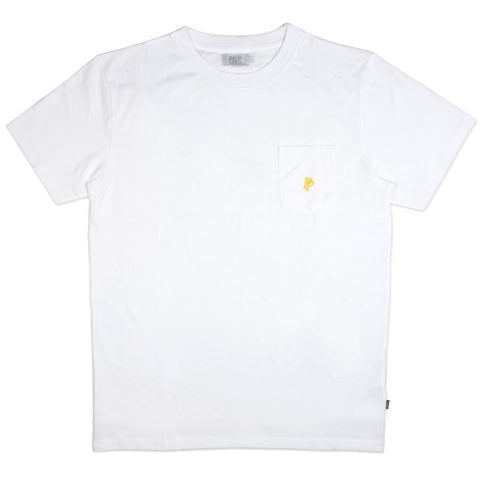 Poyz & Pirlz White Pocket Tshirt