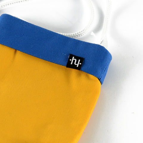 Hyskate bag Yellow Blue