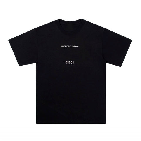 "The North Raval - tshirt ""chest 08001"" black"