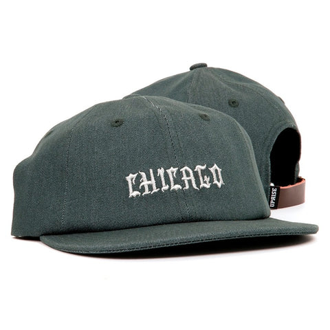 Uprise Chi-Town Denim Pine 6 Panel