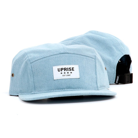 UPRISE ESTABLISHED 1997 DENIM 5-PANEL (LIGHT WASH)