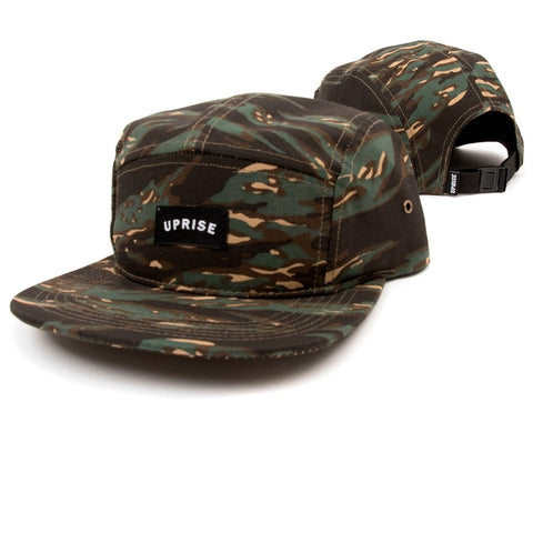 UPRISE FRANKLIN ARCH 5-PANEL HAT (TIGER CAMO)