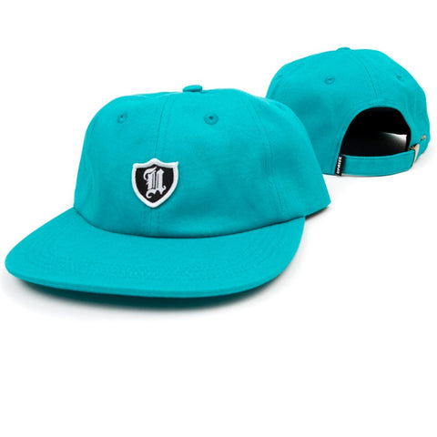 Uprise Polo Crest 6 Panel Hat Turquoise