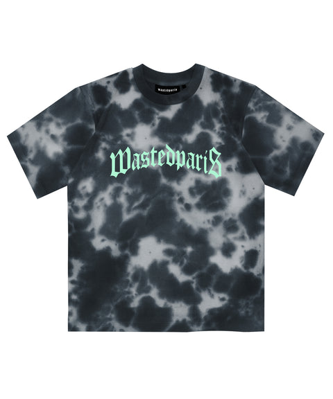 Wasted Paris T-Shirt Marble DYE Black