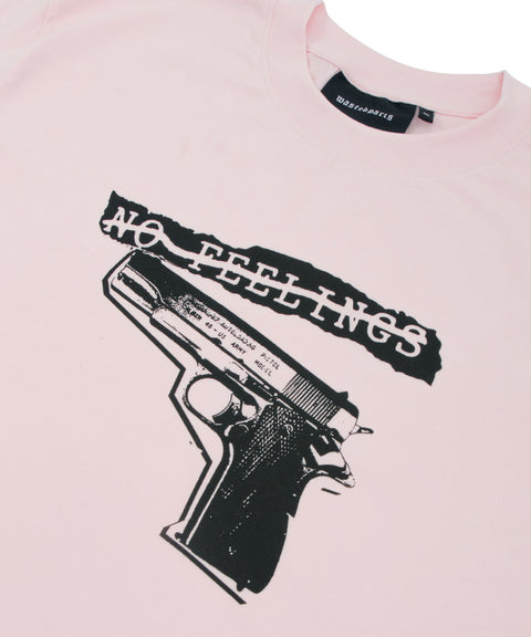 Wasted Paris T-Shirt No Feelings Light Pink