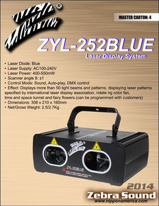 Laser Display System ZYL-252blue