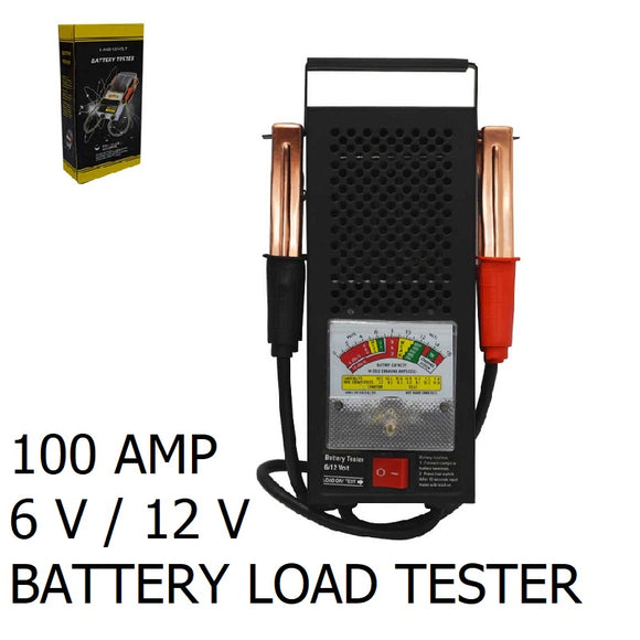 15991 H/D BATTERY LOAD TESTER/100 AMP 6V