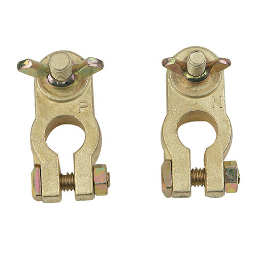 16020-2 (2 pcs) BRASS-MARINE BATTERY TERMINAL