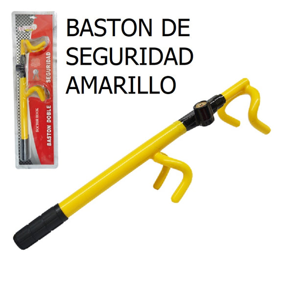 BASTON PARA AUTO:16230 STEERING WHEEL LOCK (YELLOW) BASTON
