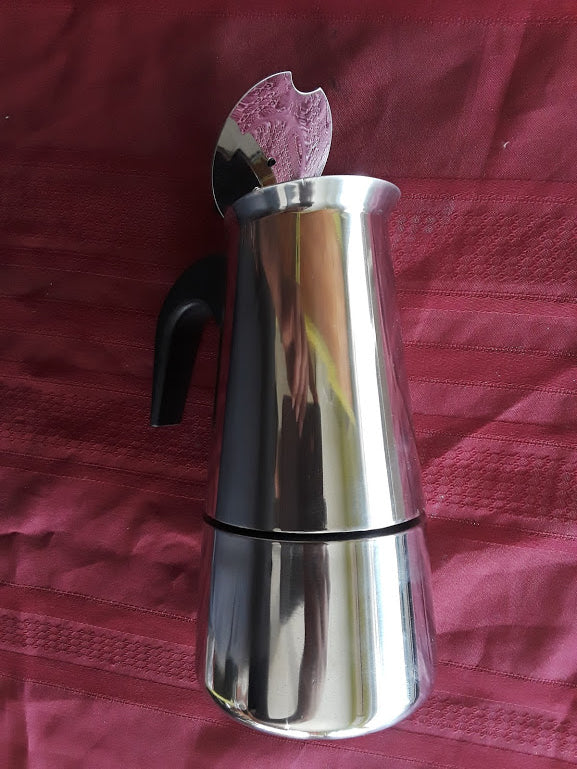 CAFETERA STAINLESS STEEL