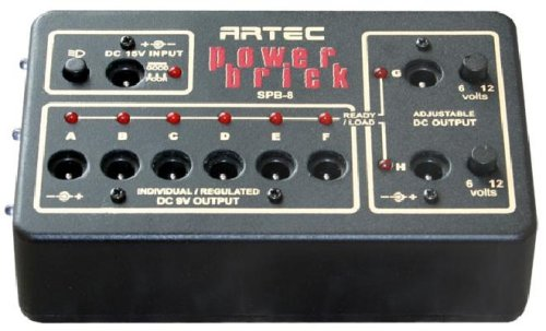 Power Supply para pedales marca Artec