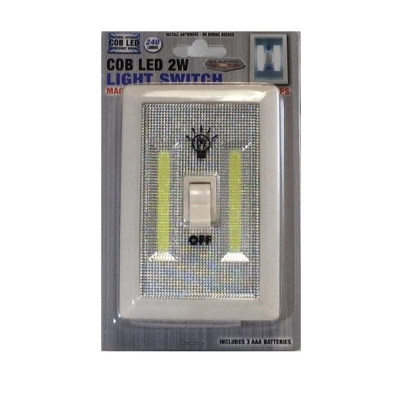 COB LIGHT 702367-BULK LIGHT SWITCH LED 10/100