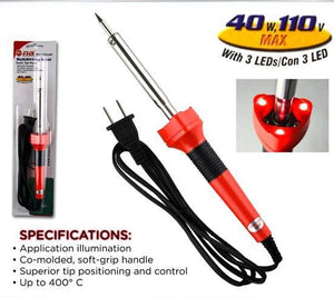 Soldering Iron 40W  with led lamp