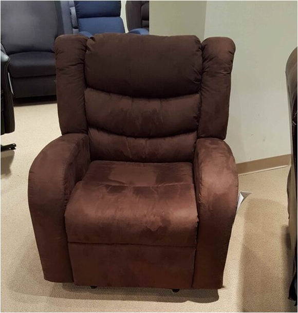 Butaca reclinable color marron