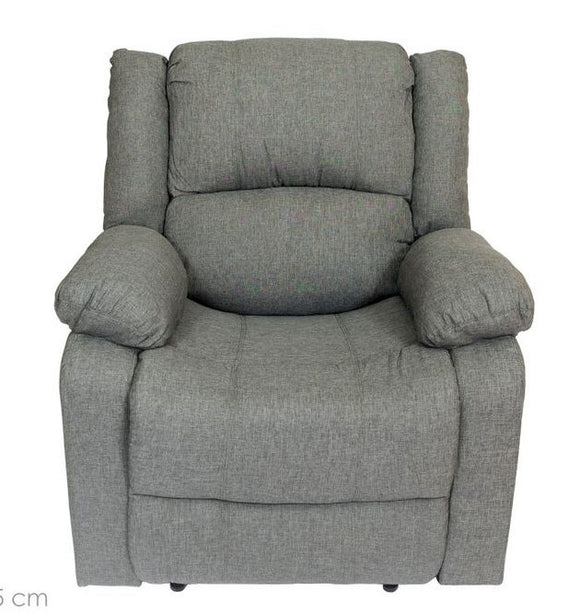 Sillón Reclinable en tela color gris RL-0318ML