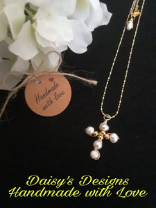Cadena estilo cruz by Daisy's Designs 5020