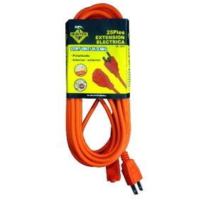 "EXTENSION ELECTRICA 25"" EL-1021 APPLIANCE EXT. CORD"
