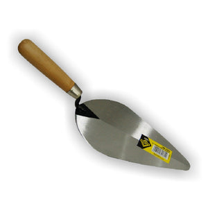 "HM-2064 TROWELS 10"" WOOD HANDLE (PALAUSTRE)"