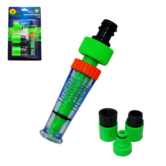 J-1068 4PCS NOZZLE MALE/FEMALE ADAPTOR