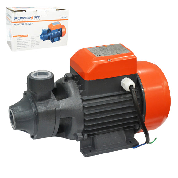 BOMBA DE AGUA WT:PC-BA050 1/2 HP WATER PUMP 320W