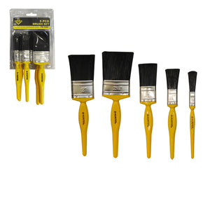 PS-1092 5PC BRUSH SET 1', 1-1/2?, 2?, 2-1/2