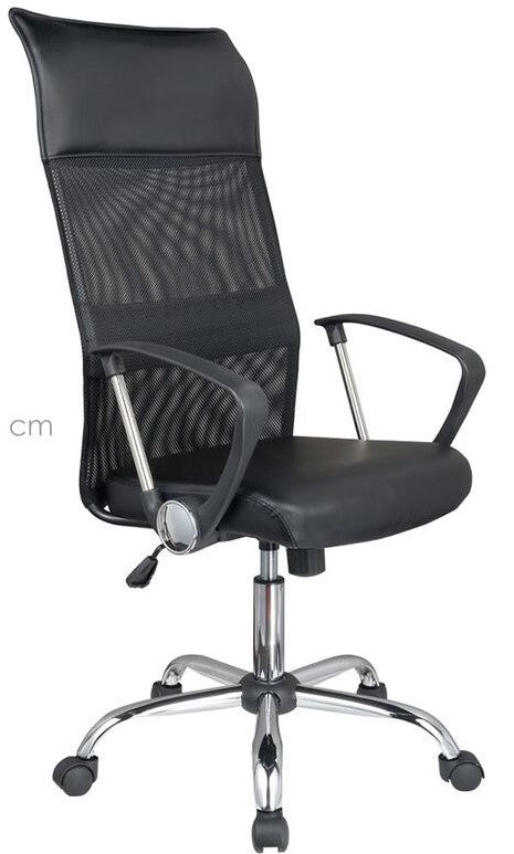 Silla de oficina Mesh color negra RL-0574SO