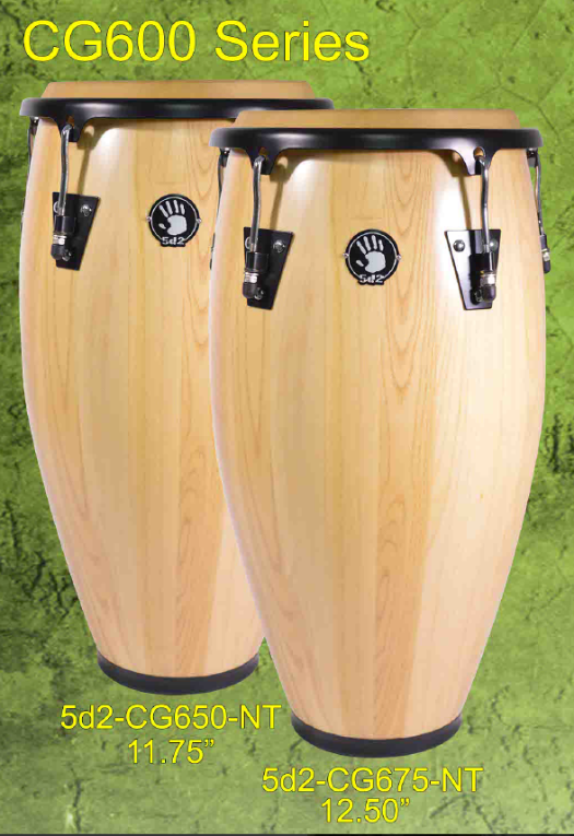 Set de congas color natural