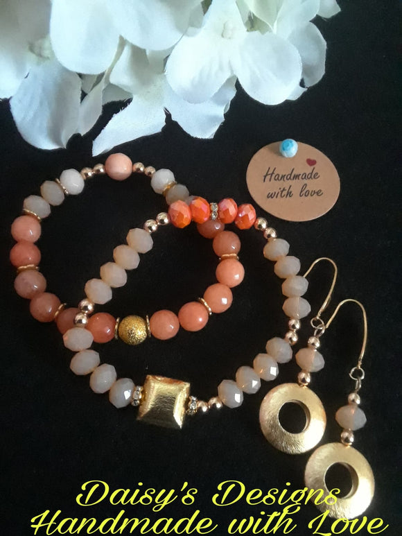 Set de pulsera y pantalla by Daisy's Designs 2035