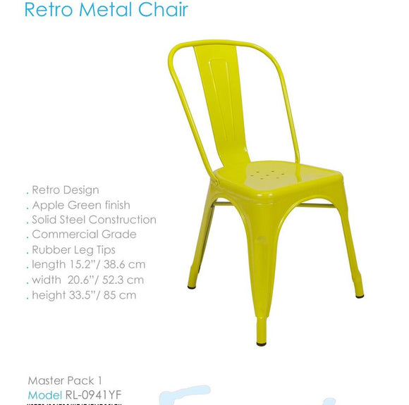 RETRO METAL CHAIR RL 0941