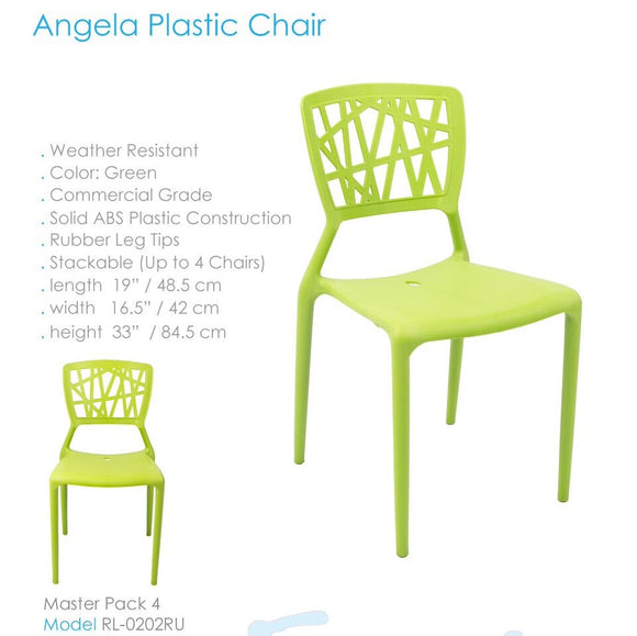 SILLA ANGELA PLASTIC CHAIR RL-0202