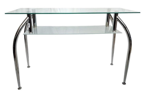 METAL AND GLASS CONSOLE RL-0120TA
