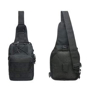 Outdoor Sports Cycling Bag Waterproof Chest Waist Strap Bag Camouflage Tactics Shoulder Pouch Backpack