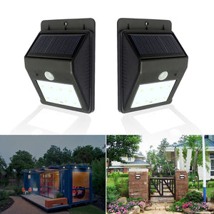 LED Solar Lights Waterproof Garden Lights Wall Lamp Highlighting Night Light