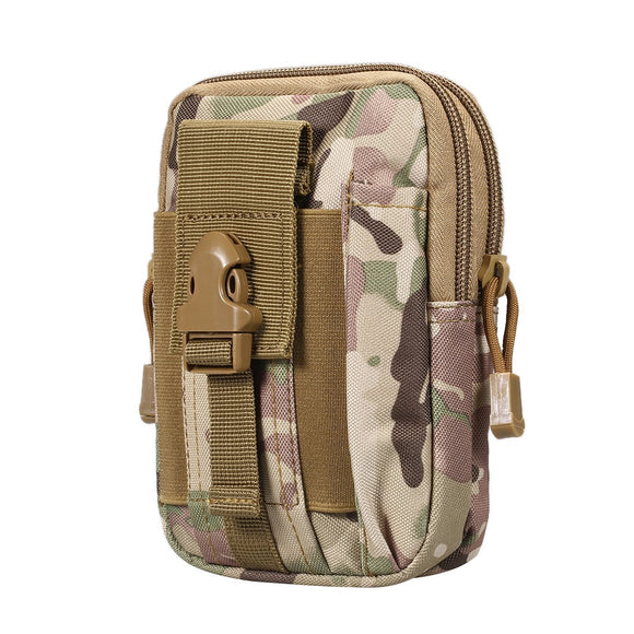 Waist Bag Outdoor Bag Sports Casual Tactical Military Fanny Pack Phone Case Camping Hunting Bags,CP Camouflage