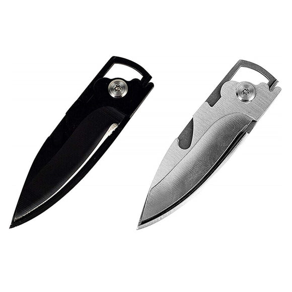 EDC Multipurpose knife mini keychain Multifunctional multi tool key pocket letter camp outdoor pare peeler peel parcel open