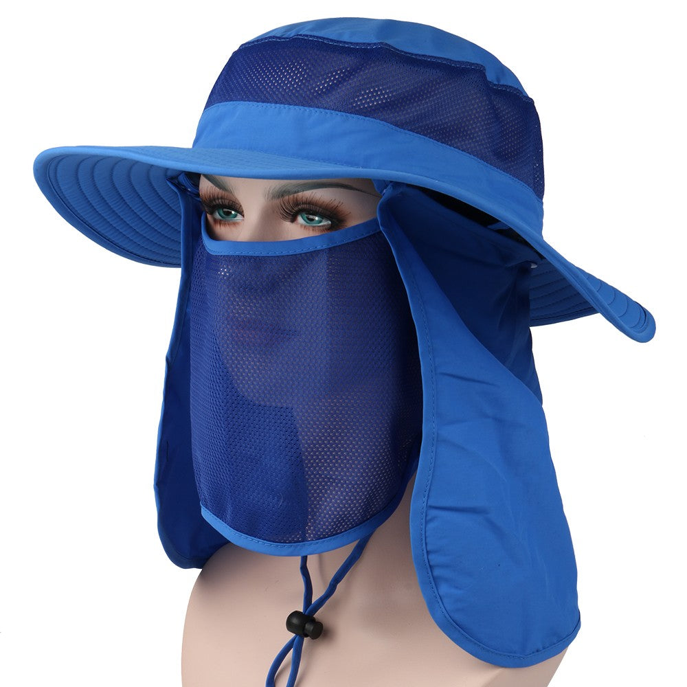 991a993a1e1 ... Outdoor 360° Sun Protection Camping Fishing Hat Wide Brim Sun Cap with  Removable Neck Face ...