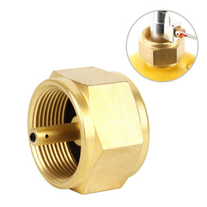Specialized MAPP Gas Adapter Stove Connector Gas Tank Adapter Camping Stove Converter