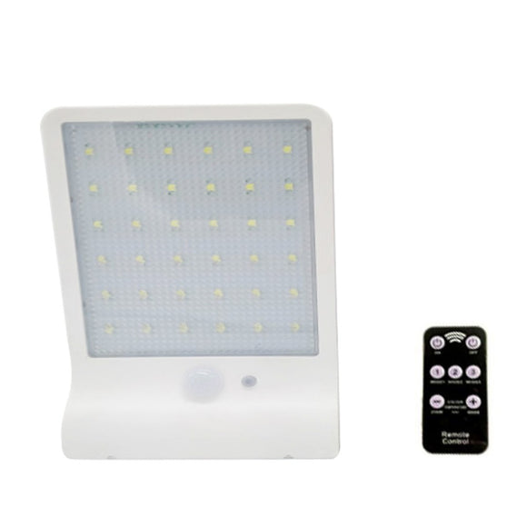 Solar 48LED Wall Lamp Sense Room Outdoor Lighting Landscape Lantern Waterproof Street Lamp Garden Light Remote Control