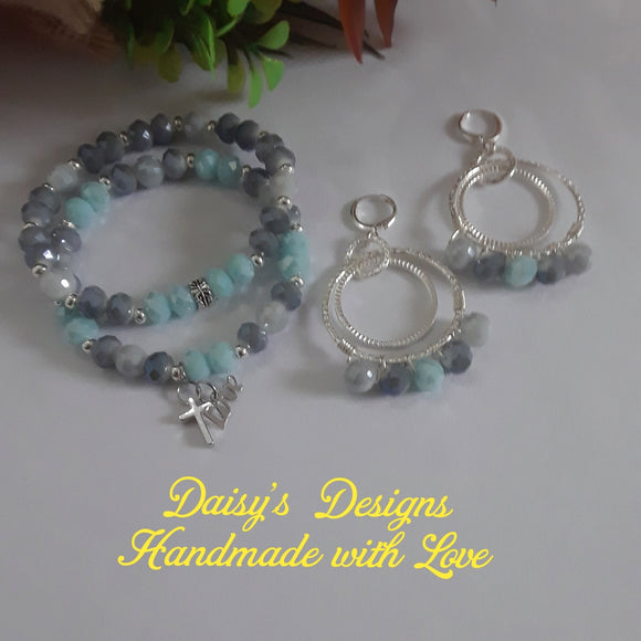 Set de Pulsera y Pantallas by Daisy's Designs 2060