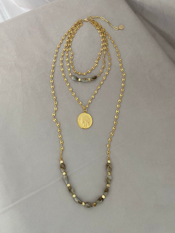 Marble 4 in 1 Necklace