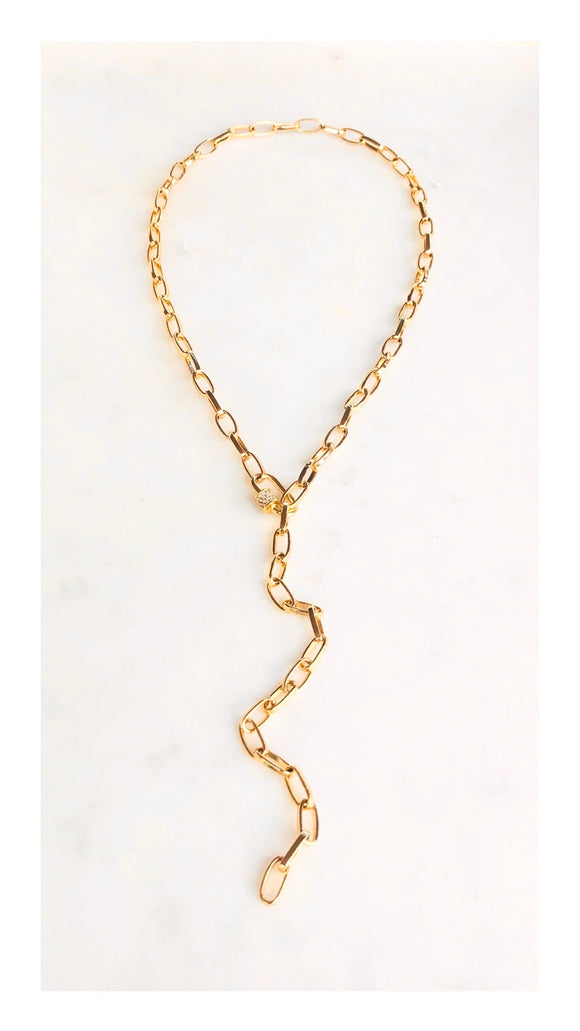 Adjustable Scalea Lariat Necklace