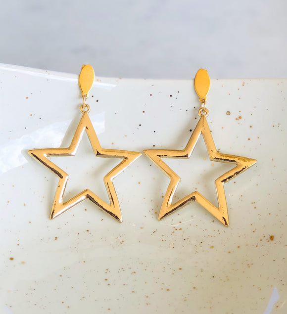 Big Stars Earrings