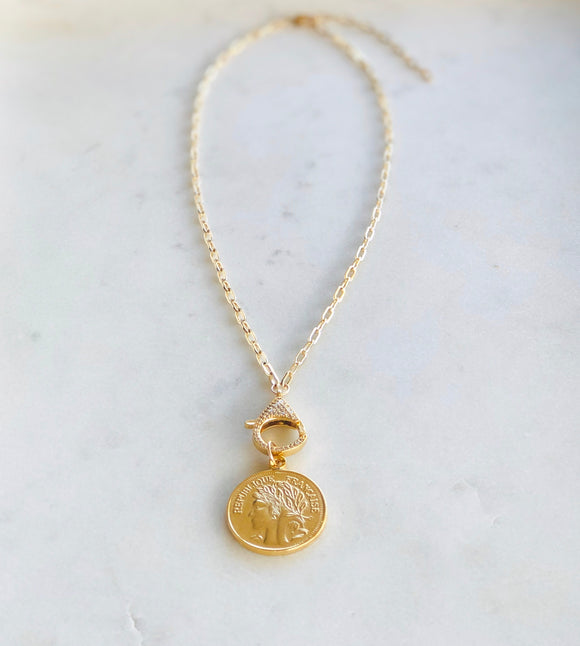 Republique Francaise Necklace