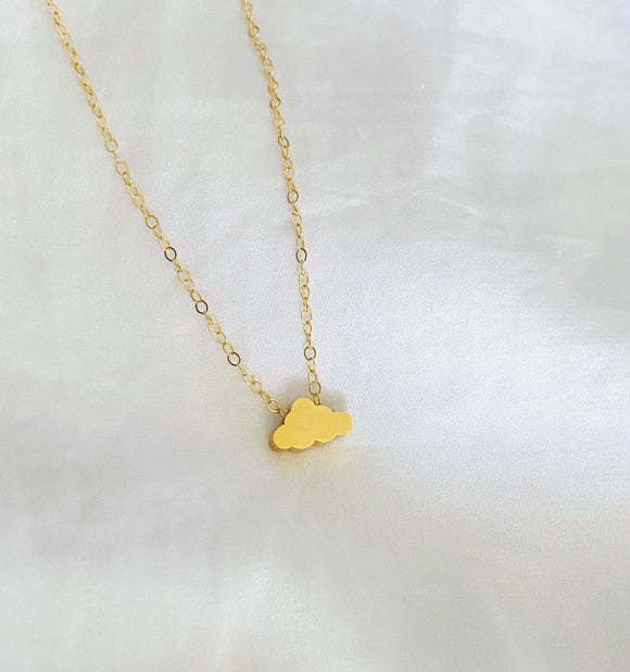 Small Cloud Necklace