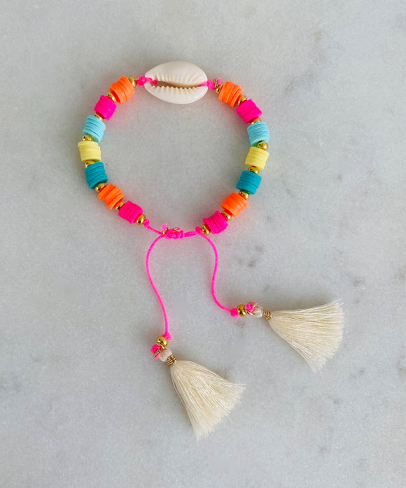 Beachy Rainbow Bracelet