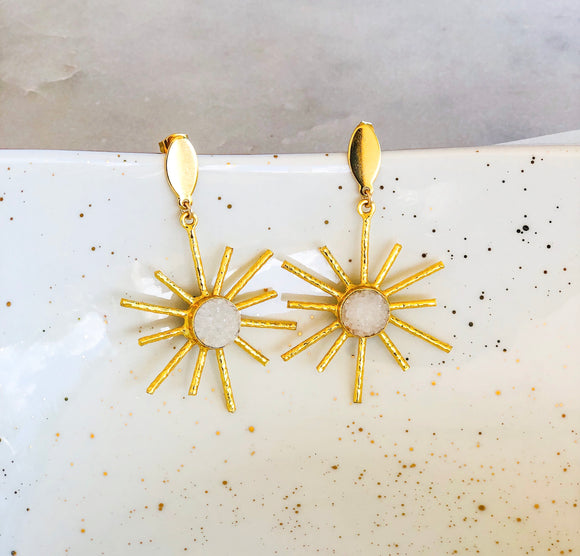 Star Rays Earrings
