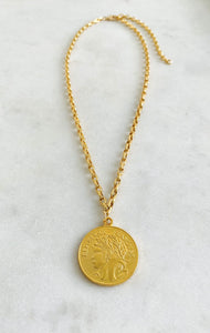 Grant Medal Necklace