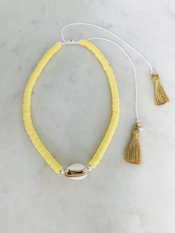Sunshine Choker| Short Necklace