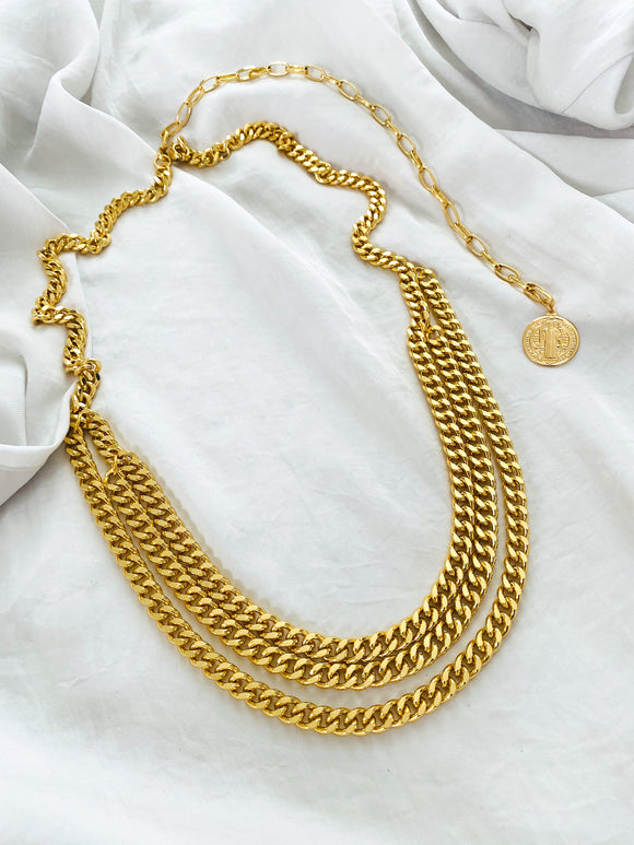 Siena Chain Belt | Necklace